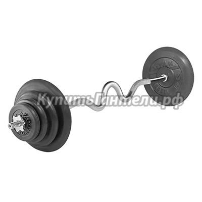 Штанга W 45 кг TITAN